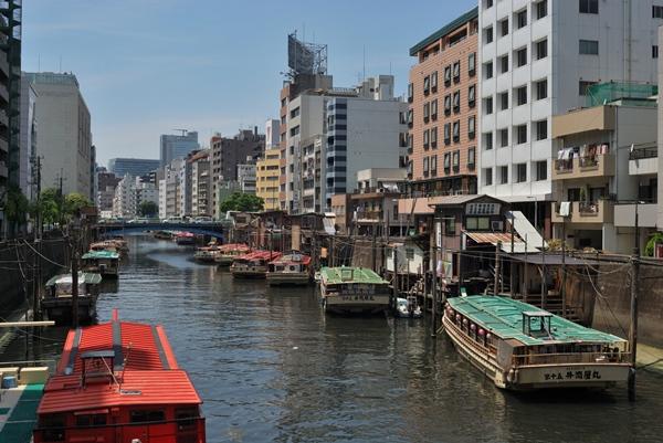 浅草橋から屋形船で東京観光