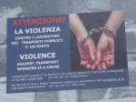 ローマ市バス暴力撲滅キャンペーン
