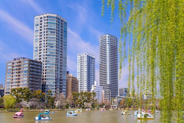 上野恩賜公園・不忍の池