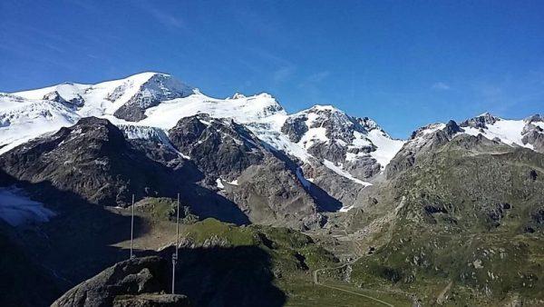 残雪も多い山岳地帯