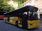 スイスの山岳ポストバス