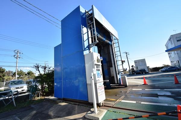 JR東日本コンサルタンツの洗車機