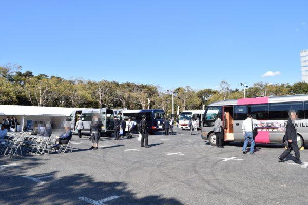 第4回のバステクin首都圏には豪華仕様マイクロバスが展示