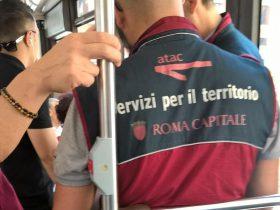 無賃乗車は日常的なローマ