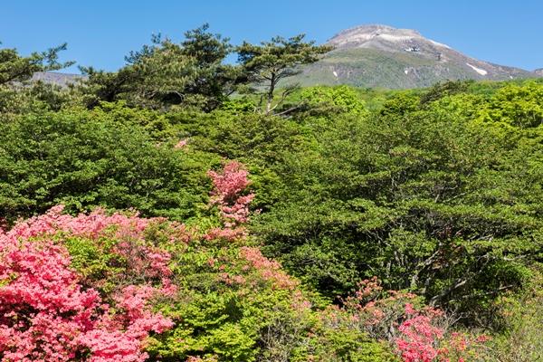 那須高原と茶臼山