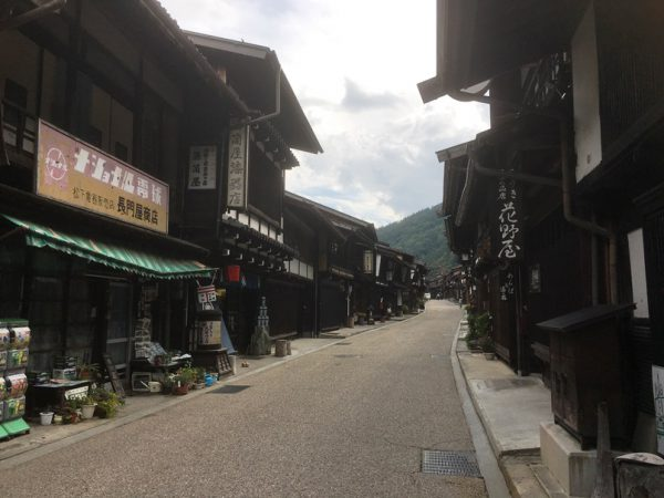 奈良井宿のお土産屋さん
