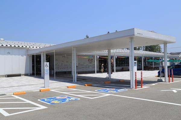 道の駅「のと千里浜」