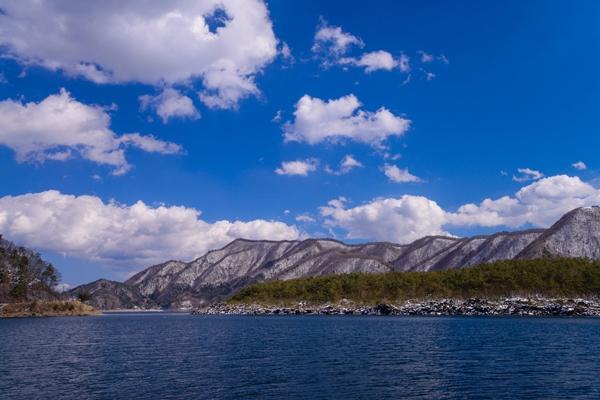 富士五湖のひとつ「西湖」