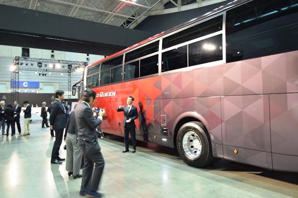 アクティブ・サイド・ガードアシストは国内大型観光バス初