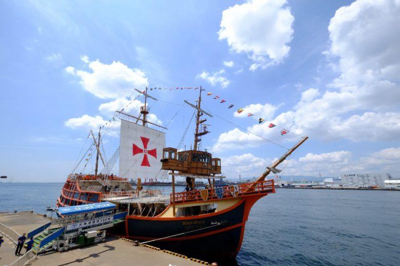 遊覧船サンタマリア号