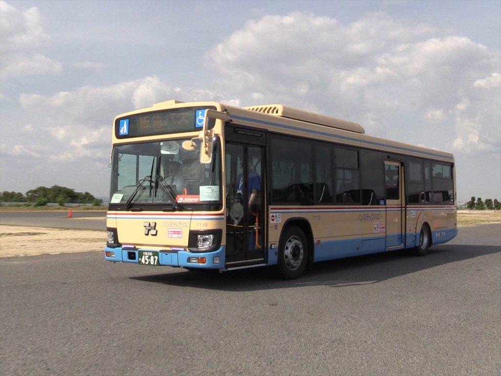 いすゞエルガ(アリソンAT搭載・阪急バス)