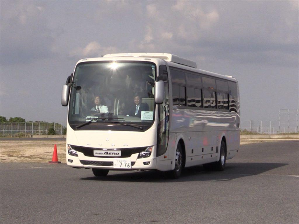 三菱ふそうエアロエース2019年モデル(AMT車)