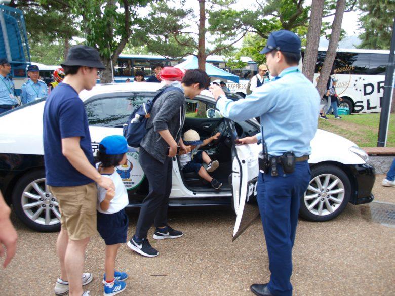 京都府警・パトカー展示