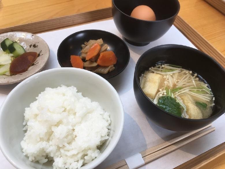 竈の朝ごはん 550円