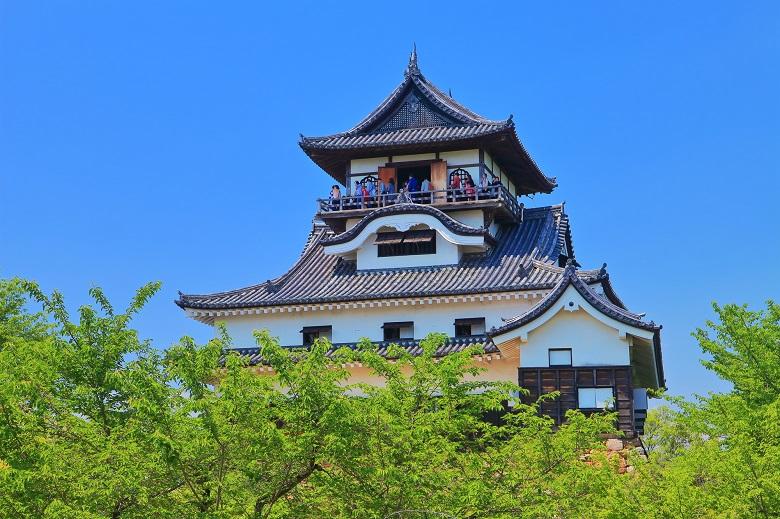 犬山城の天守