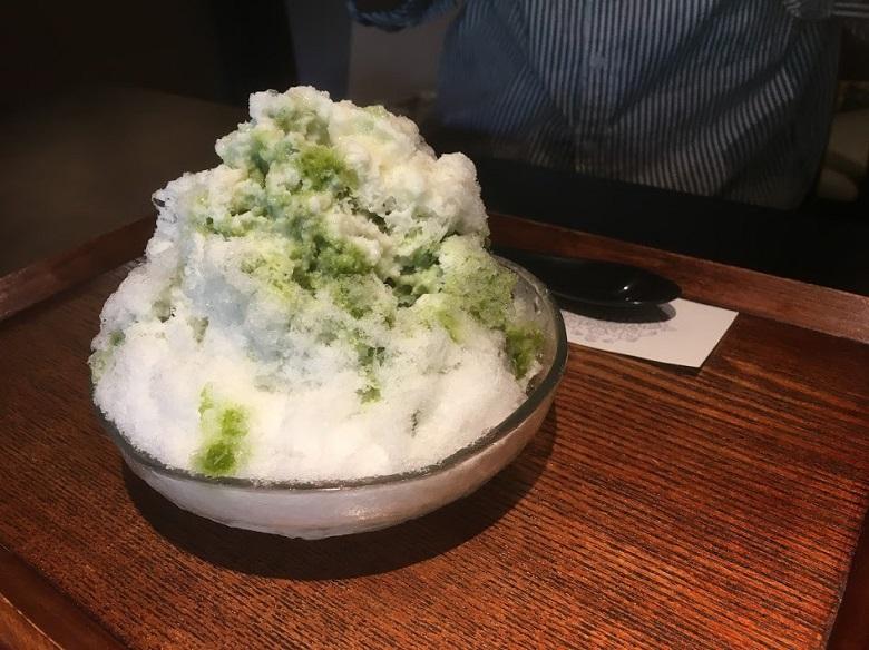 中西与三郎・かき氷