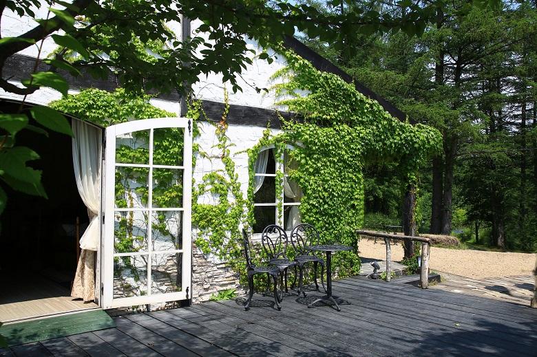 「風のガーデン」グリーンハウス