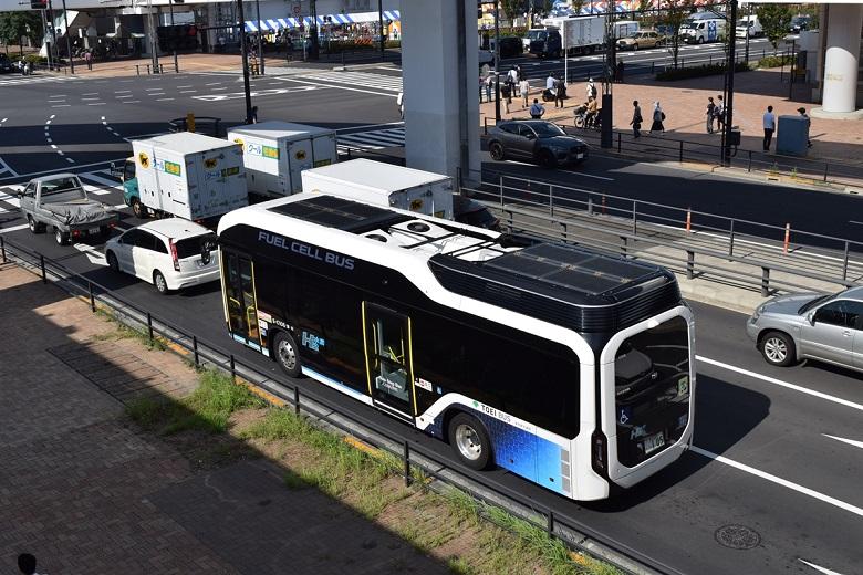 バスまつり会場まで臨時の路線バスを運行