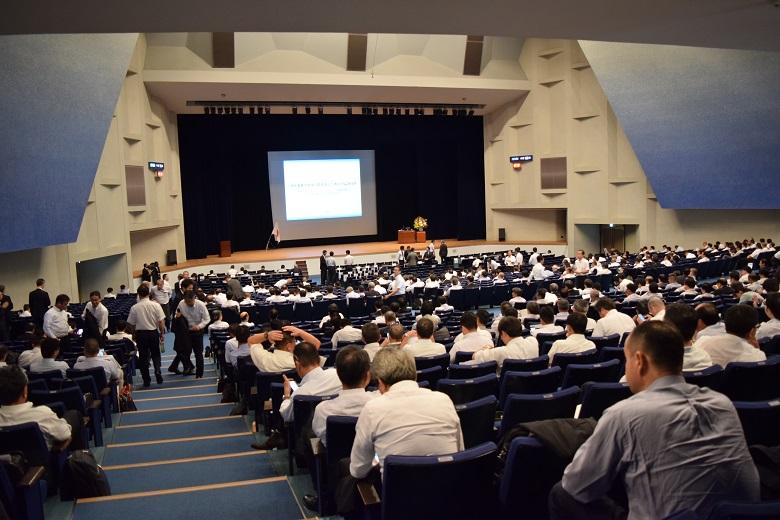 昭和大学・人見記念講堂で行われたシンポジウム