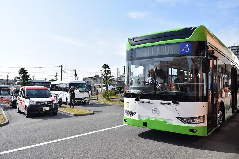 中国製EVバス「アルファバスジャパン」