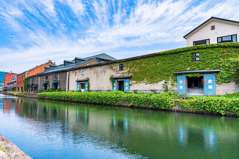 小樽の倉庫街