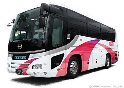 おおすみ観光中型ジェイ・バス