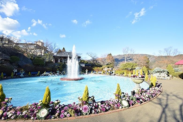 強羅公園噴水広場