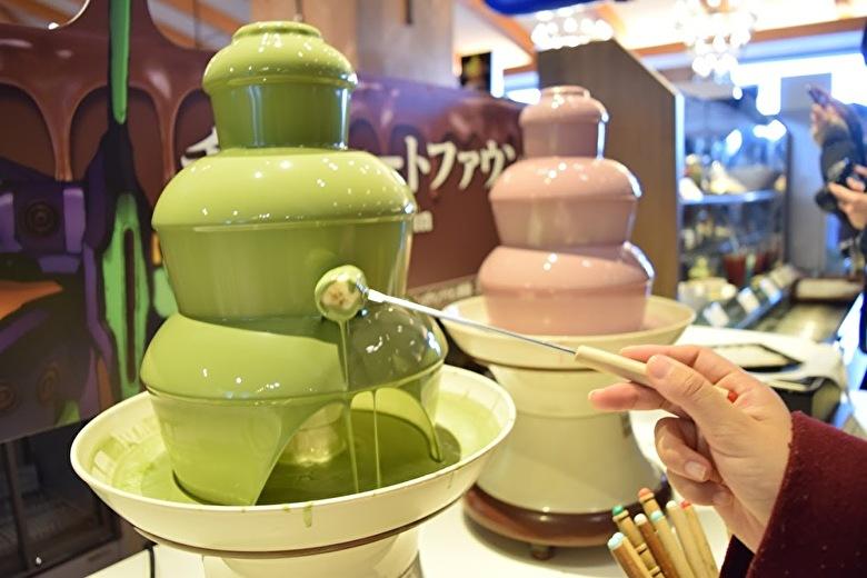 チョコレートファウンテン 初号機ver(抹茶・いちご)