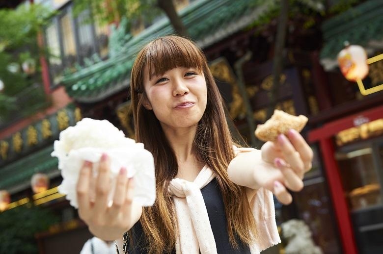 横浜中華街で食べ歩き