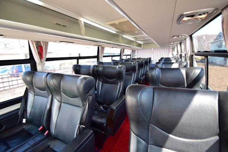 バス窓.comVIPバスの車内