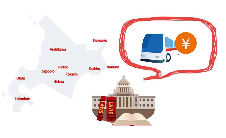 国土交通省・北海道運輸局が設定している「貸切バス運賃・料金」とは?