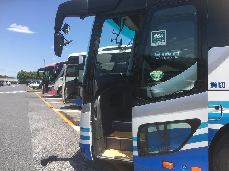 貸切バスのいろいろな使い方