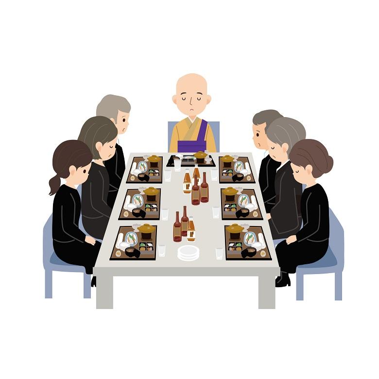 法事は会食までを含めた一連の行事