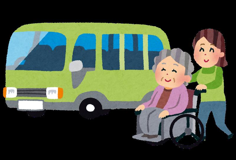 お葬式ではご年配者が多く送迎バスの手配は必須