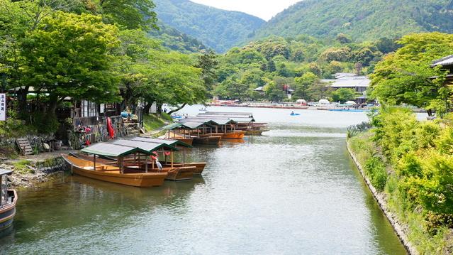 京都嵐山の風景