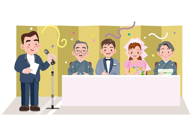 結婚式は披露宴を含めた一連の行事をいみする言葉