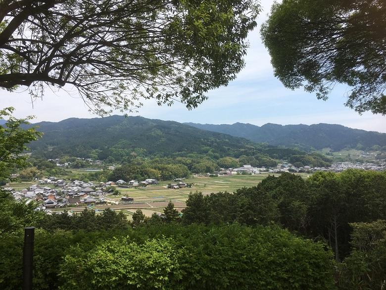 甘樫丘からの眺め