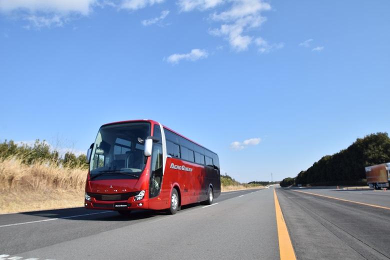 三菱ふそう・大型観光バス「エアロクイーン」
