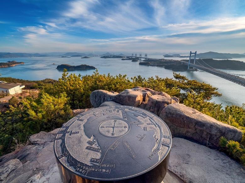 鷲羽山展望台からの眺め