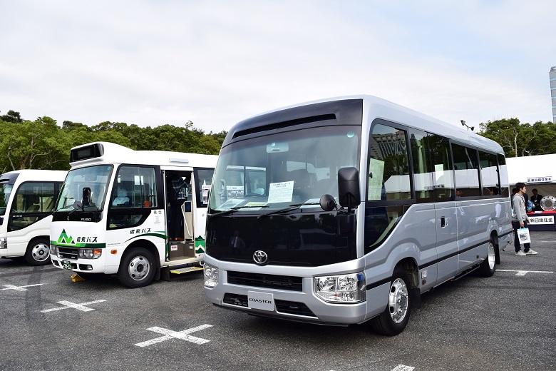 トヨタ・コースター(リエッセⅡとのOEM)・2017バステクin首都圏より