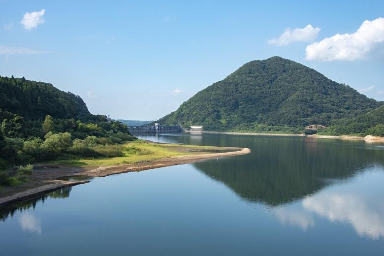 七ツ森湖 南川ダム
