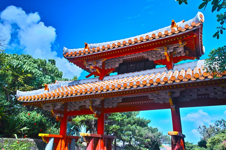 首里城・守礼門