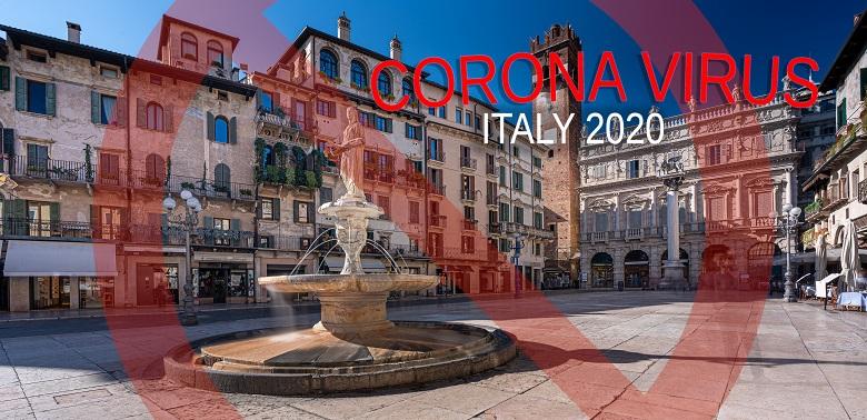 イタリアのコロナウイルス感染症について