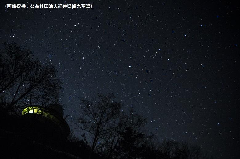 六呂師高原の美しい星空