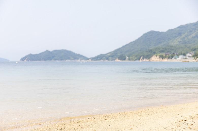 江田島のビーチ