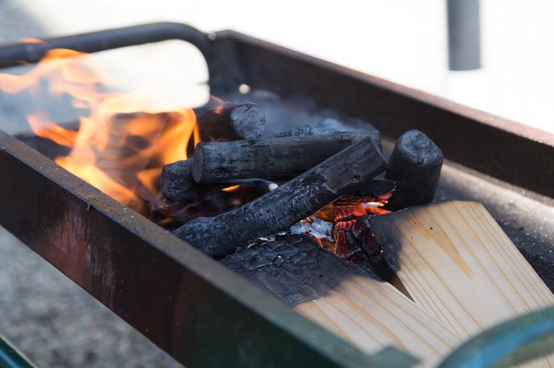 BBQの燃料や火起こしに必要なもの