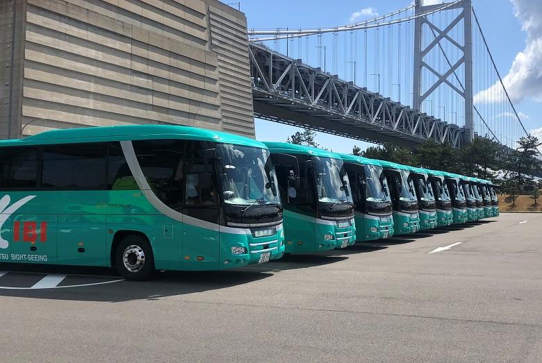 吉備交通のバスはすべて新車