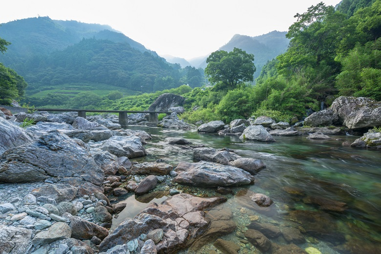 仁淀川・長屋の沈下橋