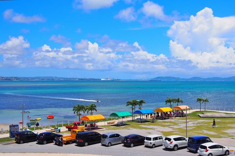 海中道路ビーチ