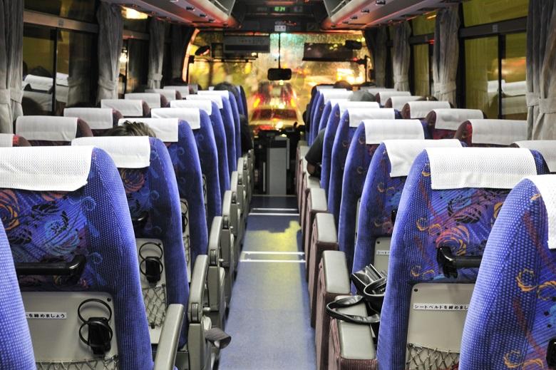 夜行バスの場合の料金